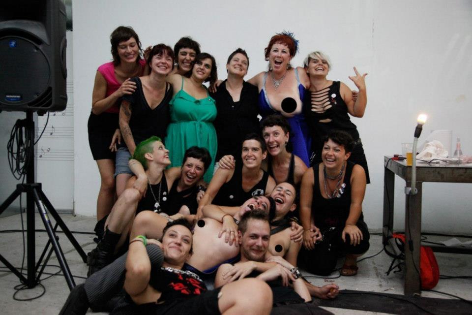 Foto dalla IV Muestra Marrana di Barcellona